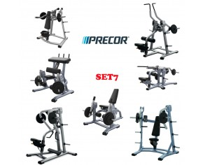 Комплект тренажерев Precor Discovery Plate Loaded 7 тренажера