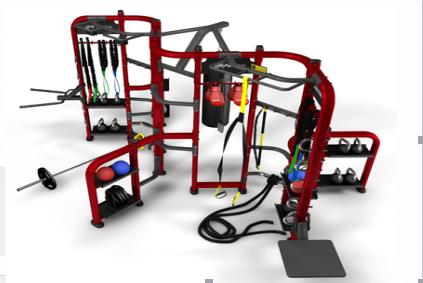 CrossFit LifeFitness Synegry 360 XI